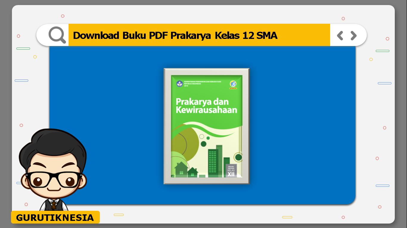 download buku pdf prakarya kelas 12 sma/ma