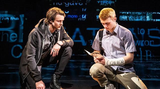 Dear Evan Hansen - Evan and Connor on stage