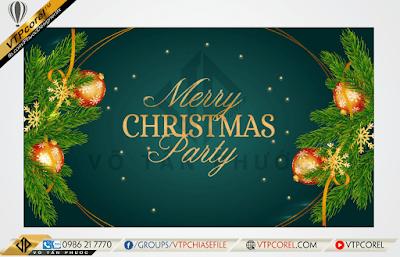 Phông nền giáng sinh - Merry Christmas sang trọng