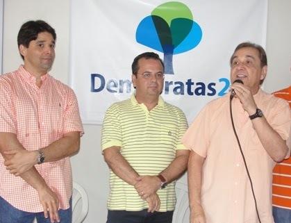 Resultado de imagem para José Agripino Maia e deputados Felipe Maia e Rogério Marinho t