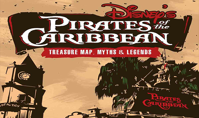 Map of your treasure to the Disney Pirates of the Caribbean