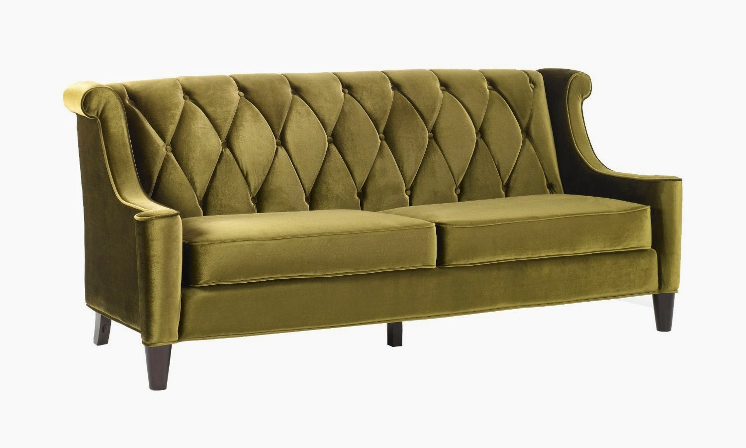 Sofa Bed Green Velvet Habitat Sleigh Couch