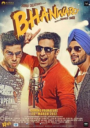 Bhanwarey 2017 Full Hindi Movie Download DVDRip 480p 300Mb