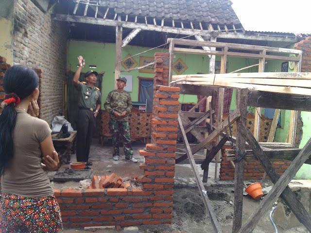 Kodim 0809/Kediri, Program Renovasi RTLH Mulai Menampakkan Hasil