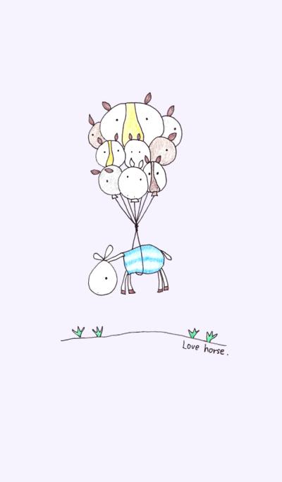 love horse No.2+