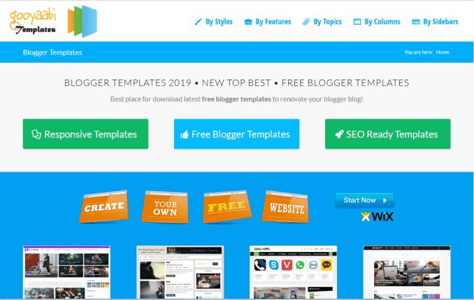 template blog keren dan gratis