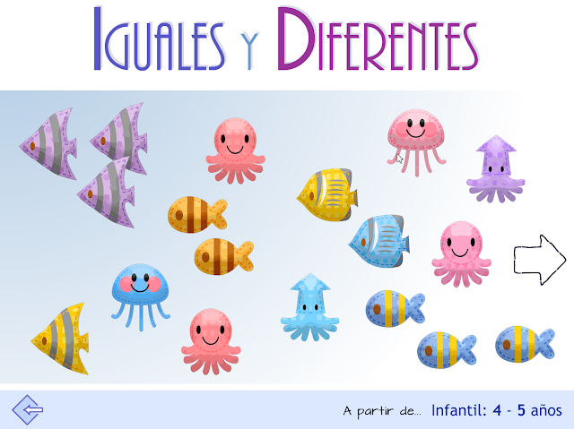 Iguales y diferentes. Proyecto MATE.TIC.TAC.