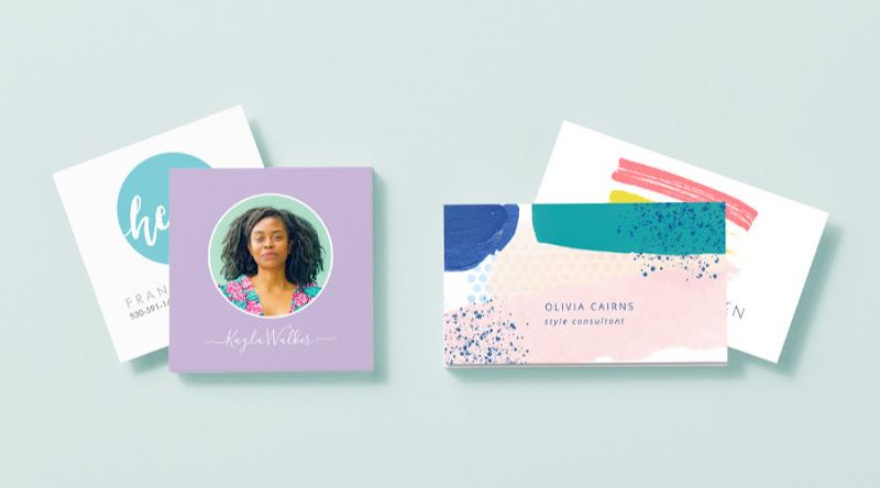 Create and print custom business cards with Zazzle