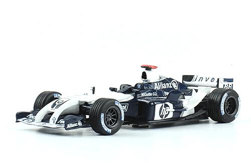 Williams FW26 2004 Juan Pablo Montoya f1 the car collection