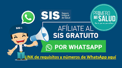 AFILIATE sin costo por WhatsApp en todo el Perú