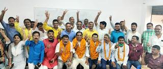#JaunpurLive :  प्राथमिक शिक्षक संघ के जिला मंत्री बने सतीश पाठक