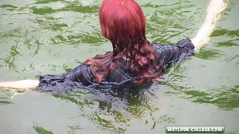 Bathing young teen nude-7079