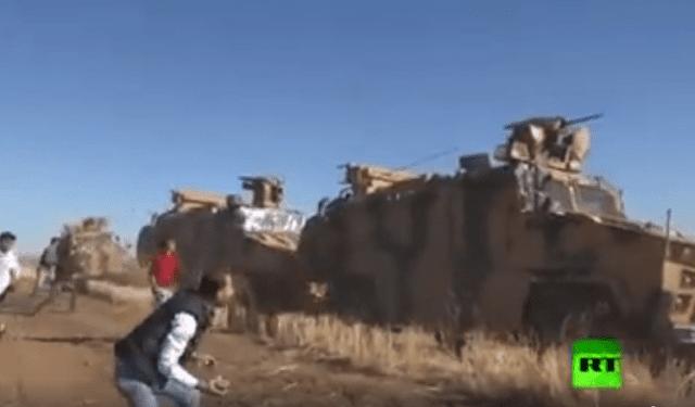 Θερμή υποδοχή τούρκων στρατιωτών στη βόρεια Συρία