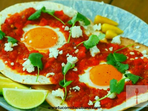 ✔️ Cómo hacer huevo frito a la ranchera