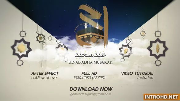 Eid ul Adha After Effect template