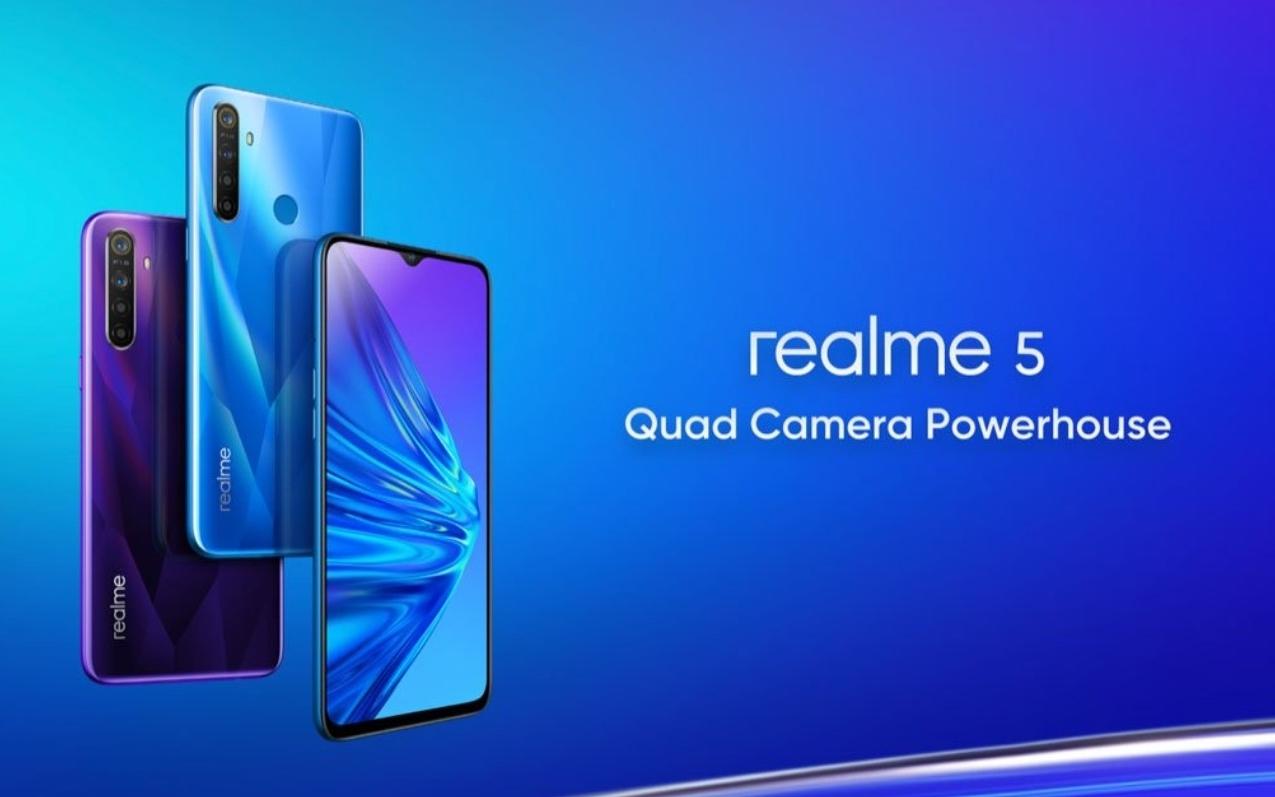 Realme 5 يتلقى تحديث جديد يجلب معه ميزات الرفاهية الرقمية، ويُحسن أداء الكاميرا