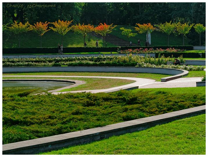 Rosarium Park Cytadela w Poznaniu