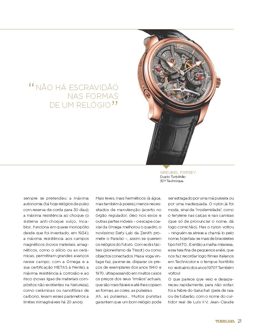 e87e0229d6e Estação Cronográfica  Mil formas de ver o Tempo - revista Turbilhão ...