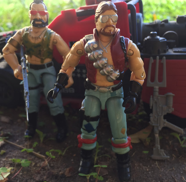 1986 Monkeywrench, Dreadnok, 1985 Ripper, Thunder Machine