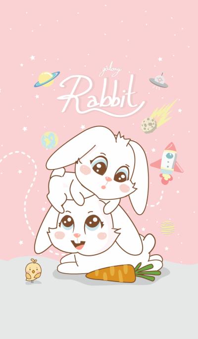 Rabbit Galaxy (Pink ver.)