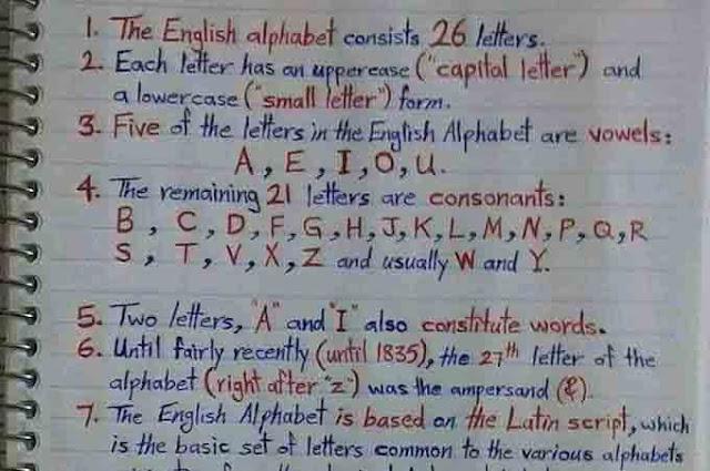 تعلم اللغة الإنجليزية من الصفر