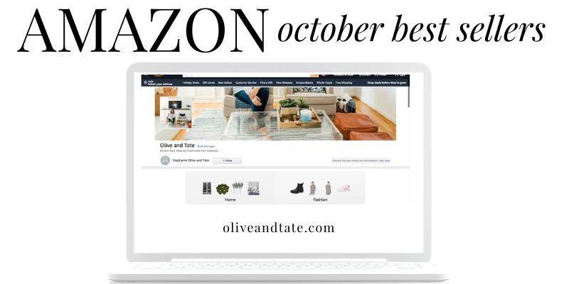 Amazon Best Sellers: October