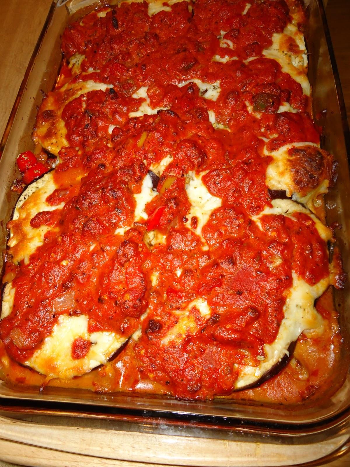Low Carb-ish: Italian Eggplant Lasagna