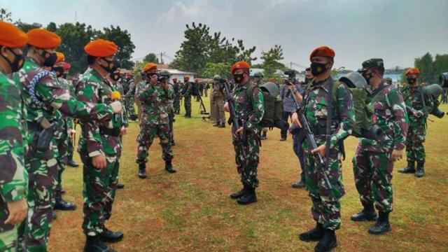 Panglima TNI Cek Pasukan, Ancaman Perpecahan Dinilai Sudah Mengkhawatirkan