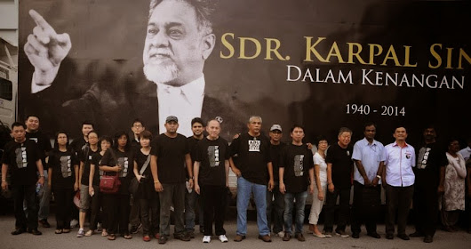 We are with Karpal Singh