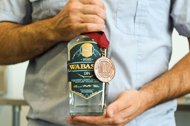 boteille,gin,wabasso,madame-gin,medaille,bronze,distillerie-wabasso,trois-rivieres