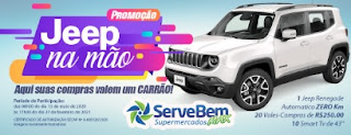 Promoção Serve Bem Max Jeep na Mão - Como Participar?