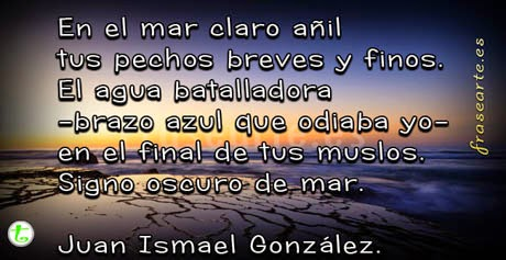 Versos de Juan Ismael