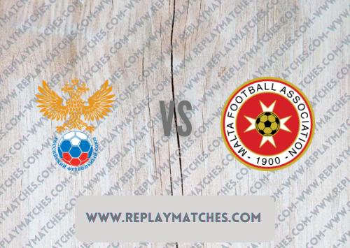 Russia vs Malta -Highlights 07 September 2021
