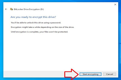 Setup Bitlocker to Protect Important Data