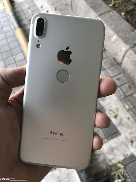 iPhone 8 still got its clone after the one at the end of May, where this time the pictures show a grip of the device