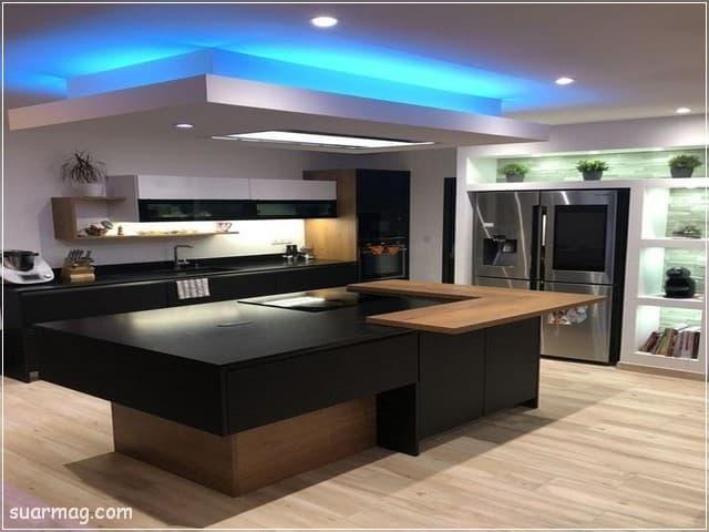 جبس بورد مطابخ 6   Kitchen Gypsum Designs 6