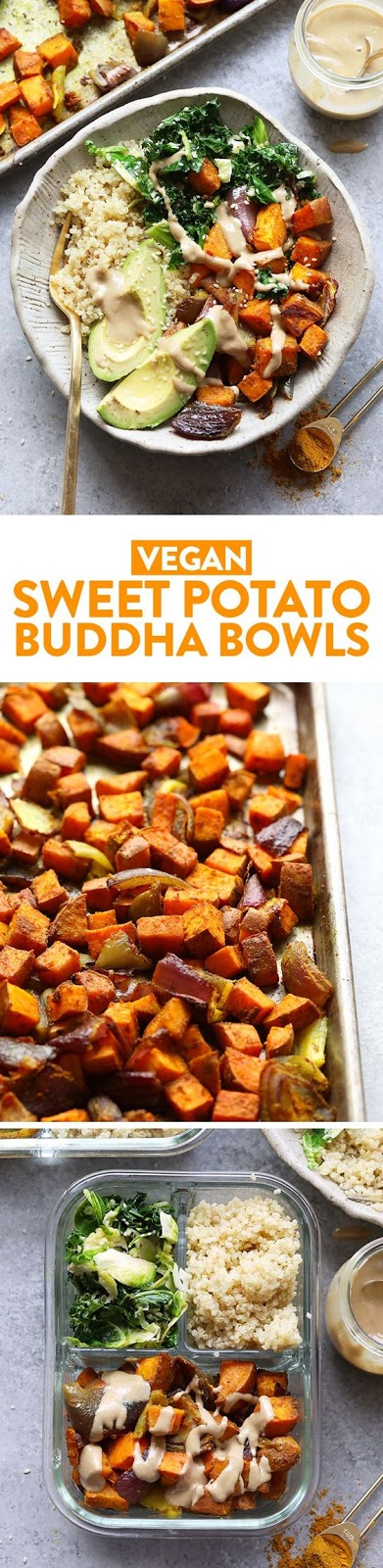 Sweet Potato Buddha Bowls