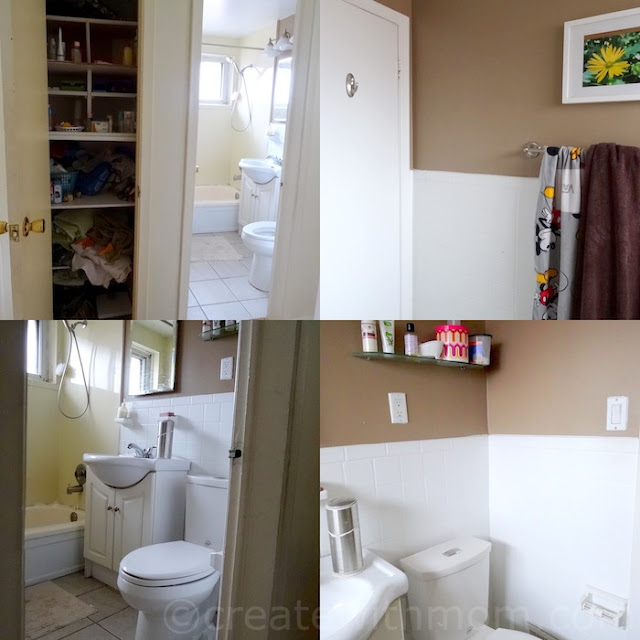 Bathroom Renovation DIY before