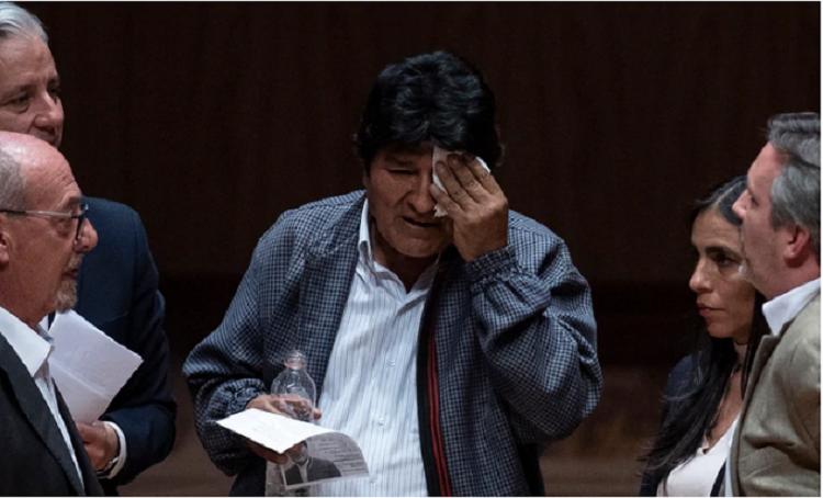 Morales está sospechado de presuntos hechos de corrupción / AFP
