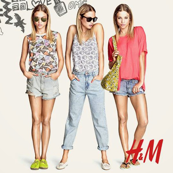 H and m clothing online shopping