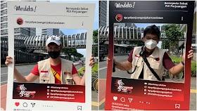 Kader PDIP Gowes dan Selfie di Titik Instagramable Besutan Anies, Bilang Keren