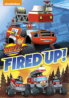 DVD & Blu-ray Release Report, Blaze and the Monster Machines: Fired Up!, Ralph Tribbey