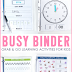 Busy Binder Activities
