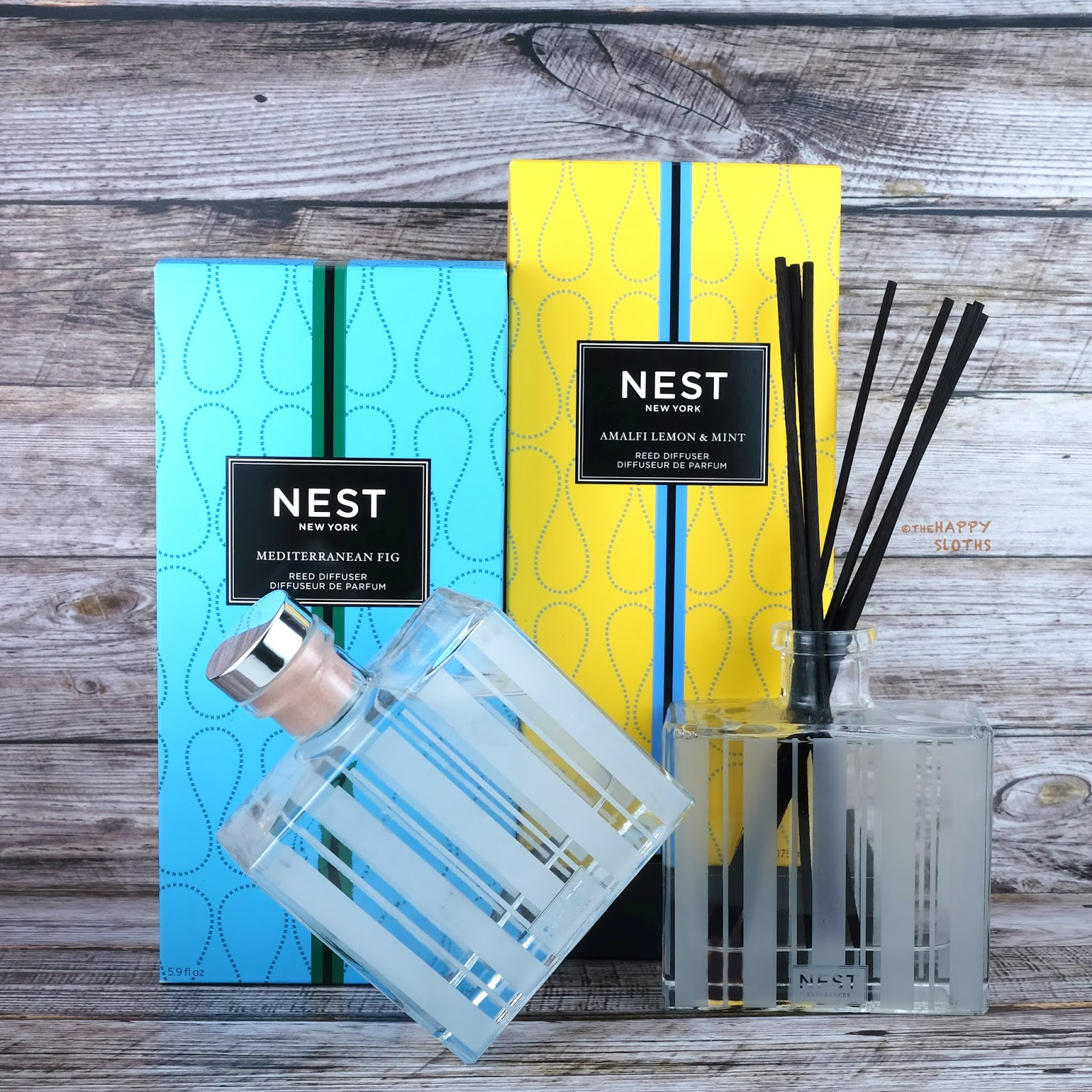 NEST Fragrances | Amalfi Lemon & Mint Candle and Mediterranean Fig Reed Diffuser: Review