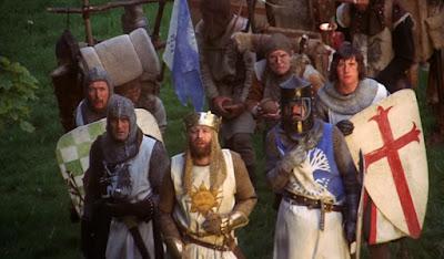 Los caballeros de la mesa cuadrada - Monty Python - SPAM - SPAMALOT - el fancine - Santa granada de Antioquía - Ready Player One - ÁlvaroGP - Content Manager - Contenido digital - Pelis para MIBers