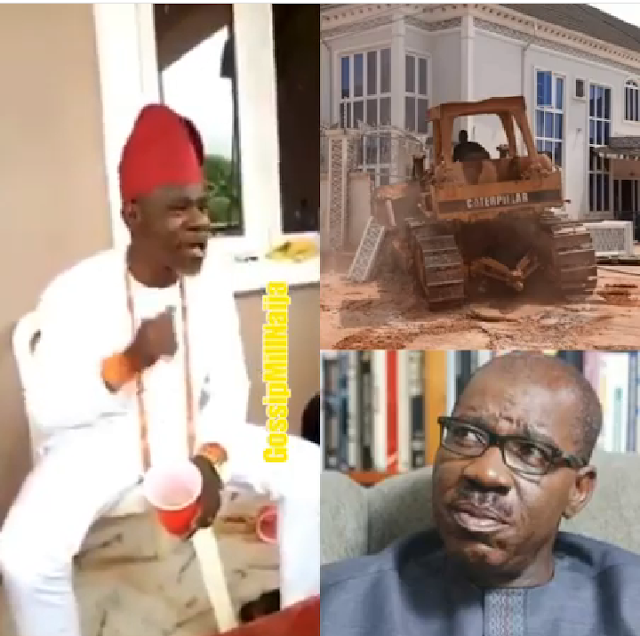 Edo Billionaire mocks Obaseki with Timaya's song over his Disqualification (Video)