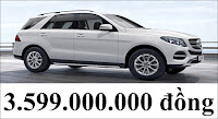 Giá xe Mercedes GLE 400 4MATIC 2018
