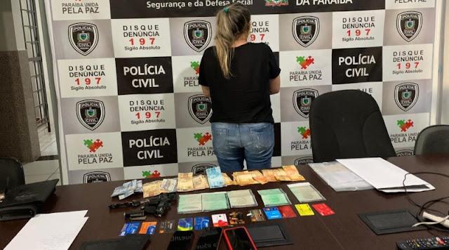 Mulher presa suspeita de furtos no Rio atuava como empresária em Patos