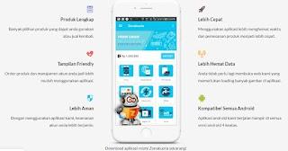 Aplikasi Isi Paket Data / Pulsa Termurah, Tercepat, Praktis di Aplikasi Android Zona Kuota 2020