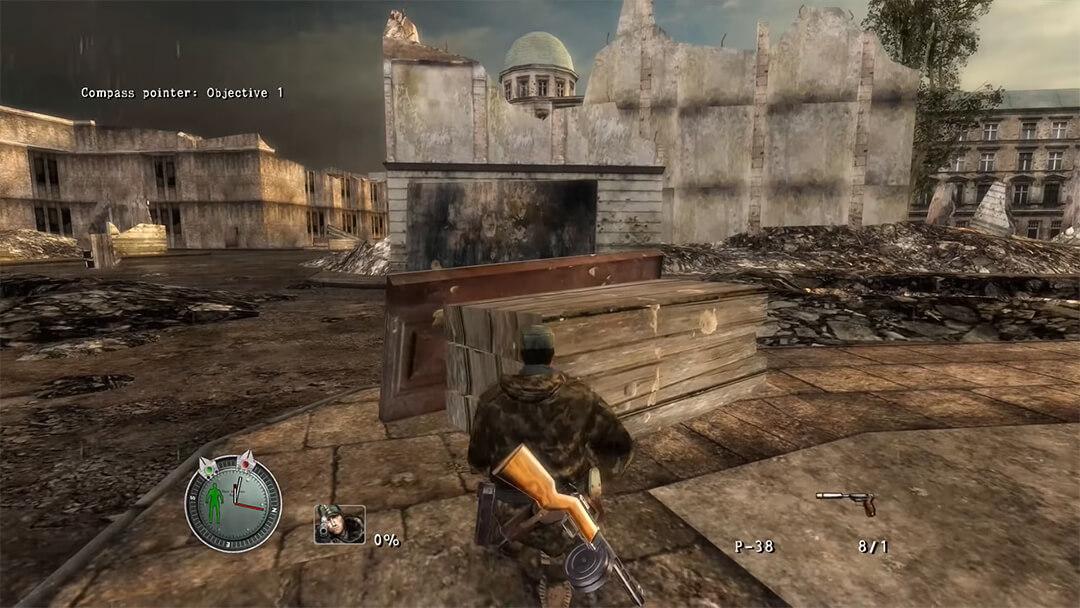 لعبة Sniper Elite